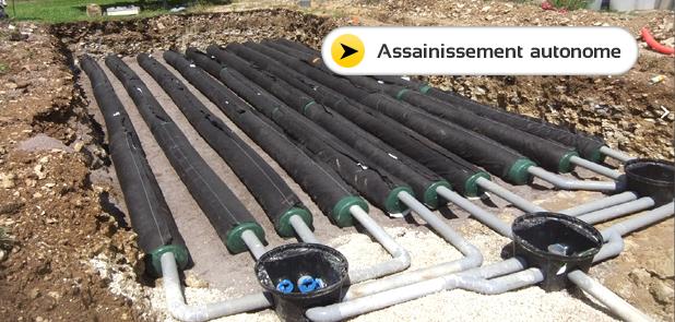 Installation assainissement autonome Aube 10, Yonne 89