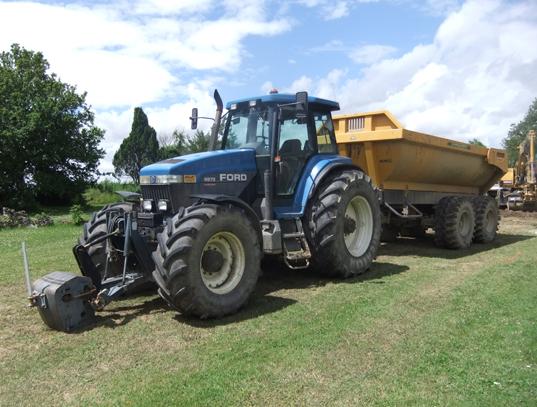Tracteur camion benne Aube 10, Yonne 89