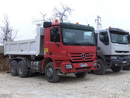 Location camion benne Aube, Yonne
