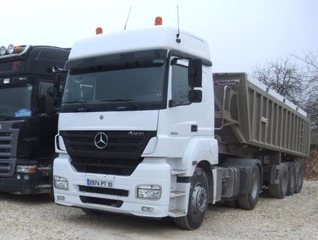 Location tracteurs routiers Yonne 89, Aube 10
