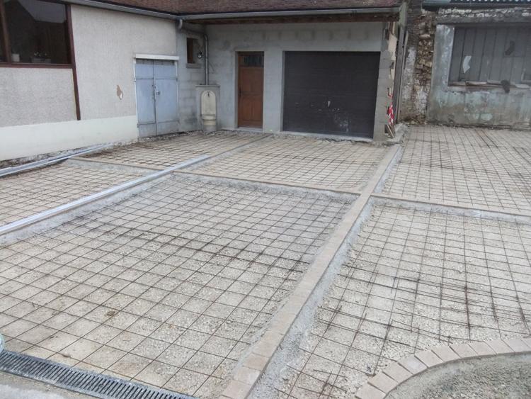 bton dsactiv - Descente De Garage En Beton Desactive